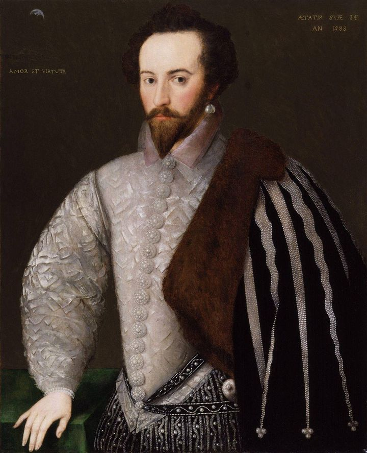 The Queen's Favourite himself, Sir Walter Raleigh