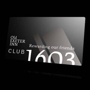 Club1603 membership card