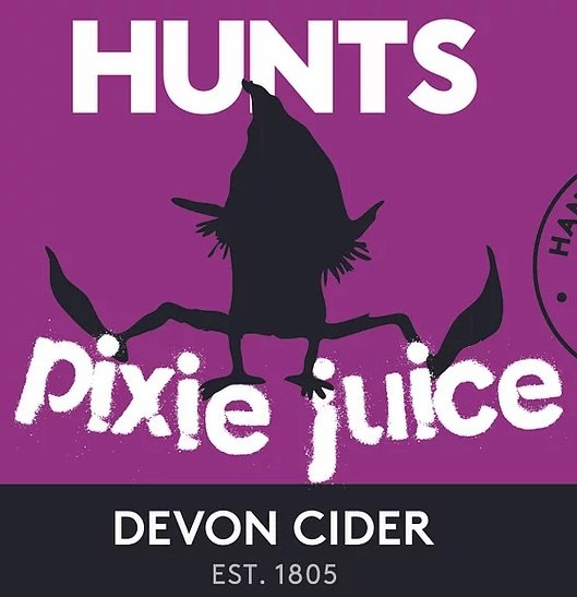HUNTS Pixie Juice Devon Cider