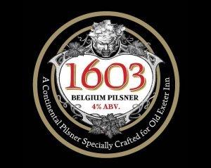 1603 Belgium Pilsner, Old Exeter Inn